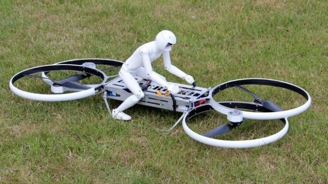 Летающий мотоцикл своими руками