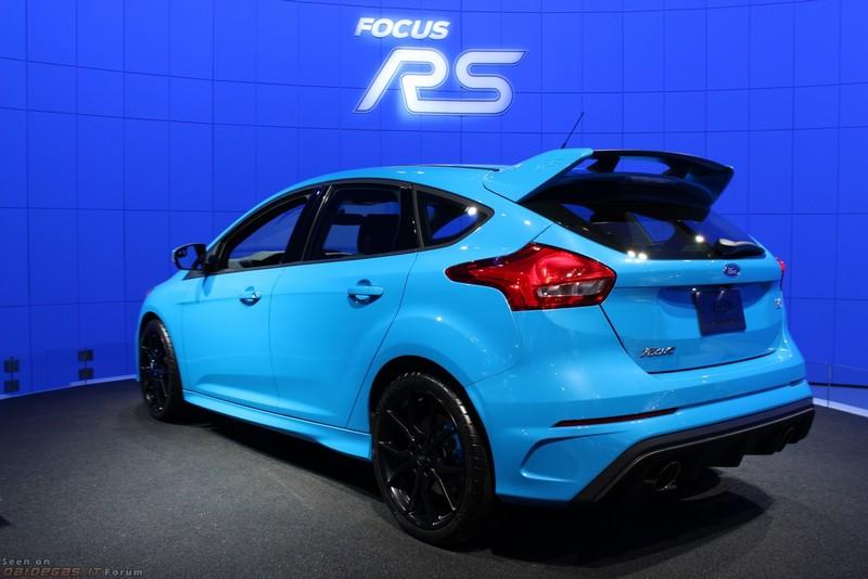 Ford Focus RS 2018: стильное обновление нового автомобиля