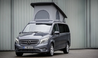 Der Vito mit neuem Aufstelldach – Exterieur, flintgrau metallicThe Vito with new pop-up roof – Exterior, flint grey metallic