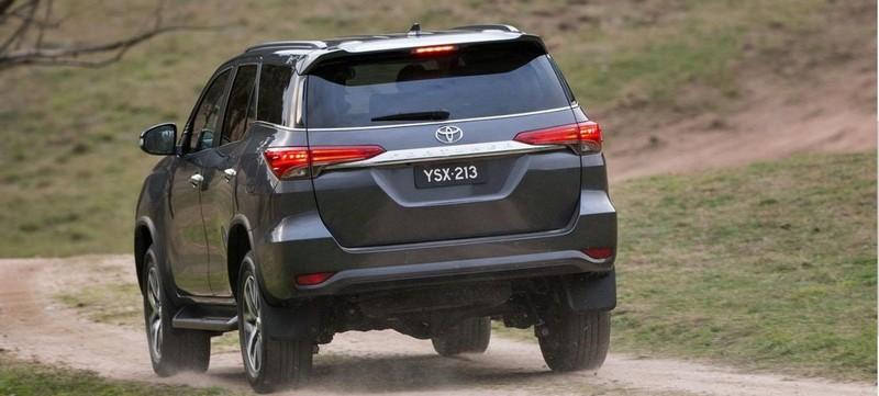 2018 Toyota Fortuner Exterior