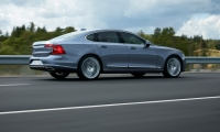 Location Rear Quarter Right Volvo S90 Mussel Blue