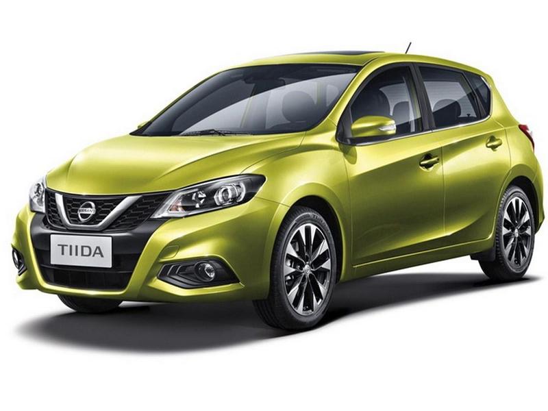 Фирменный цвет Nissan Tiida