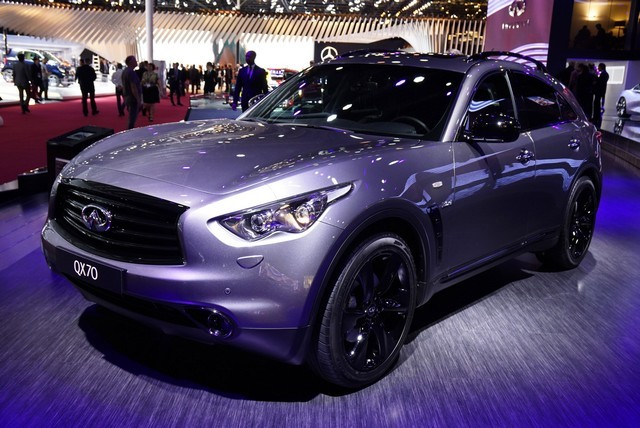 Infiniti QX 70 Paris 2016
