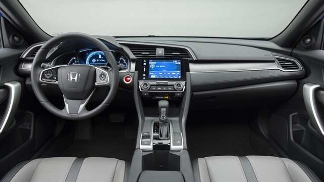 салон новой Honda Civic 2016