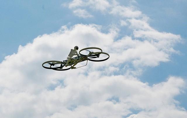 Макет пилота Hoverbike
