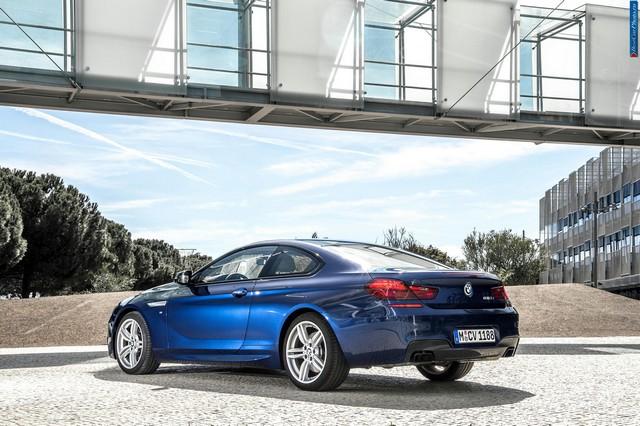 BMW 6 сзади
