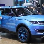 Landwind X7 — Нет дизайна? Возьми у Range Rover