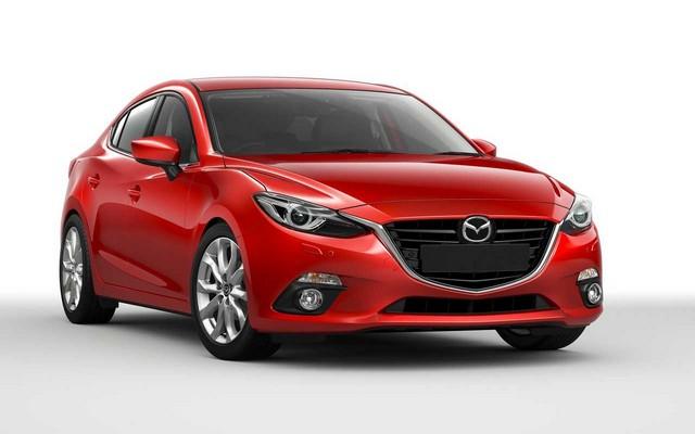 Mazda тройка