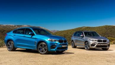 Две BMW X5