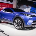 Toyota C-HR 2017 года сконцентрировалась на молодой аудитории