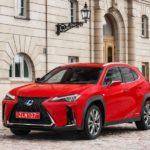 Лексус UX 2019 — SUV с низким клиренсом