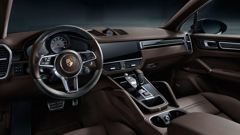 интерьер Porsche