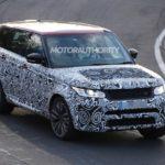 Range Rover Sport SVR – Тандем британской вычурности и мощности