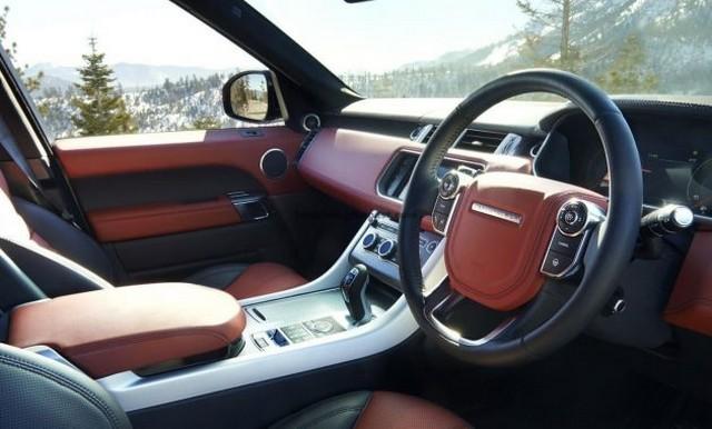 Британская роскош в салоне автомобиля