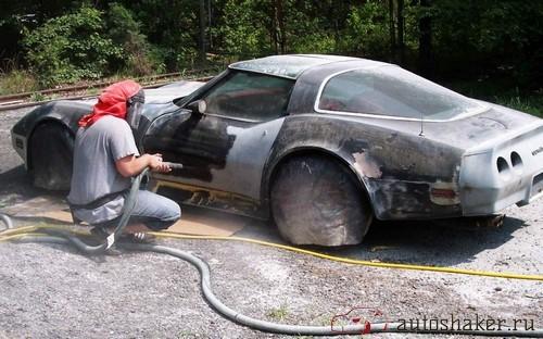 как убрать ржавчину с автомобиля
