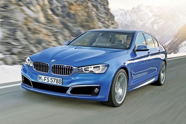 BMW 5 спереди
