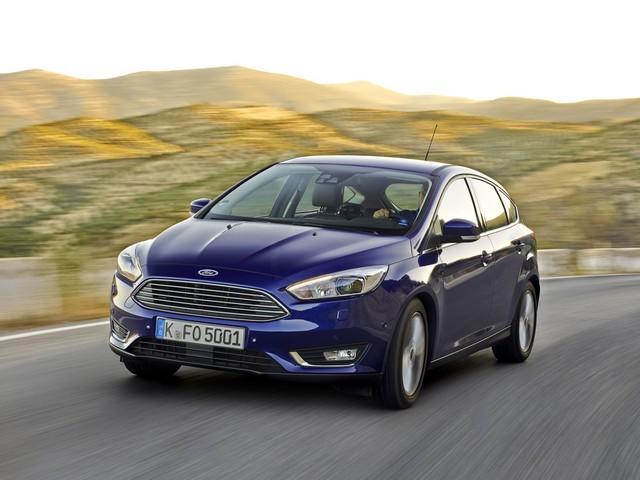 Ford спереди