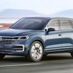 "Фольксваген Туарег 2017 и концепт ""VW T-Prime"" одно лицо"