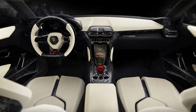 Lamborghini интерьер