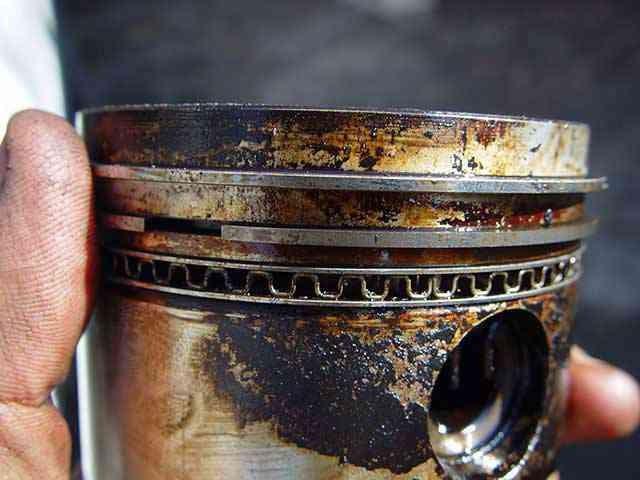 Мягкая раскоксовка поршневых колец в масло