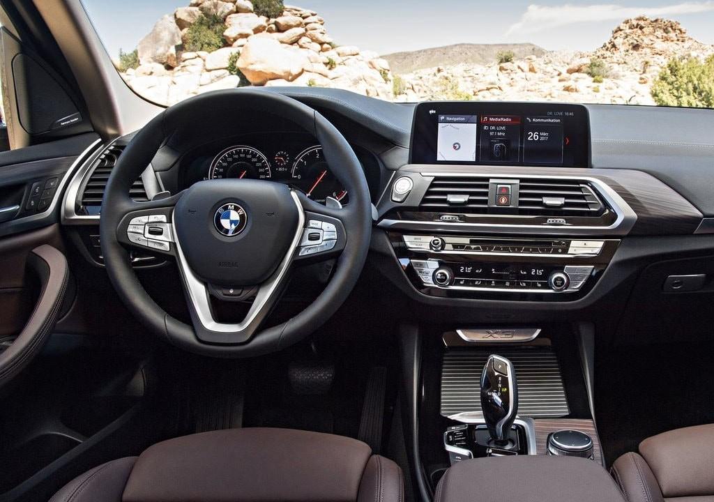 интерьер BMW